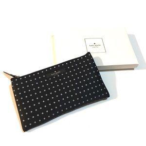Kate Spade pouch cosmetic makeup bag pencil case